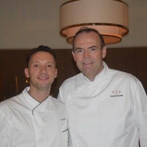 Executive Chef, Arnaund Masset ,Master Chef Charlie Palmer