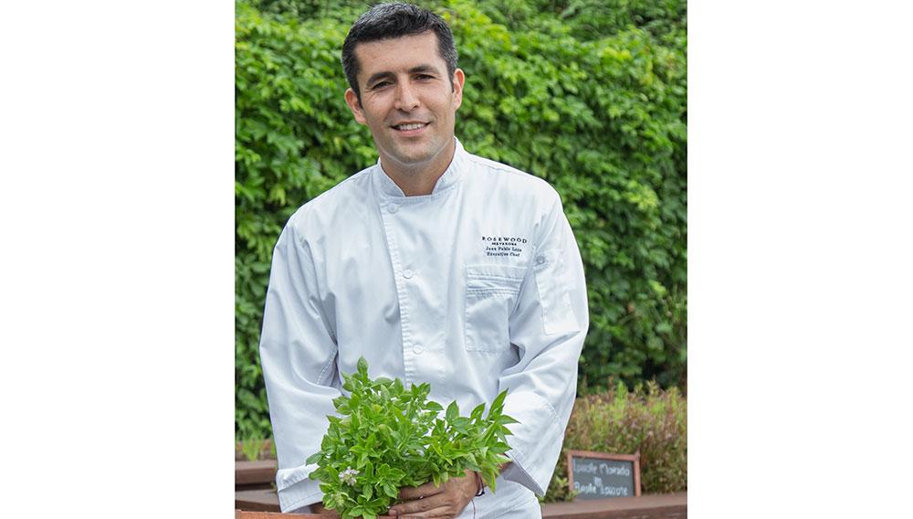 Chef Juan Pablo Loza